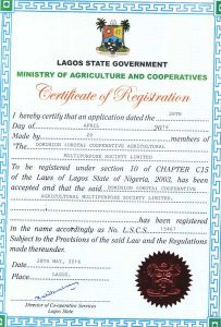 Dominion (Okota) Cooperative Agriculture Multipurpose Society Limited